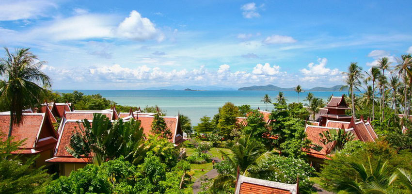 Banburee Wellness Resort and Spa is centrally situated at Laem Set Beach, the hideaway part of Samui Island, Suratthani Province. Its location is surrounded by lines of mountains and faces the breathtaking view of Koh Samui beach.