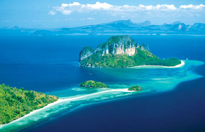 Krabi is a province on Southern Thailand's East Coast